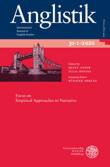 Anglistik - International Journal of English Studies